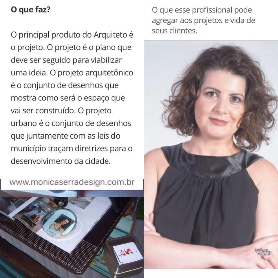 Arquiteta Mônica Serra